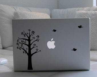 Tree and Birds Laptop / Notebook Computer Decal