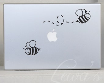 Bumble Bee Laptop Decal Set