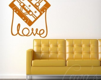 Love Like Music Wall Decal Extra Large