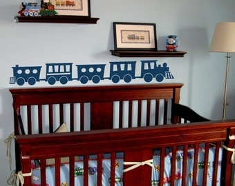 Choo Choo Train Wall Decal Large