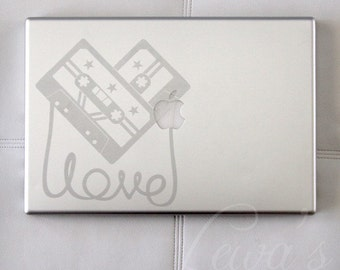 Love Like Music Etched Glass Laptop / Notebook / Macbook Computer Decal