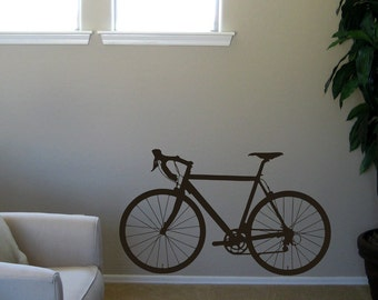 Street Bicycle Wall Decal Extra Large