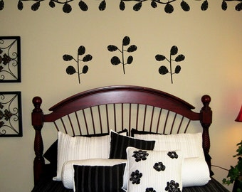 Vines and Twigs Wall Decals