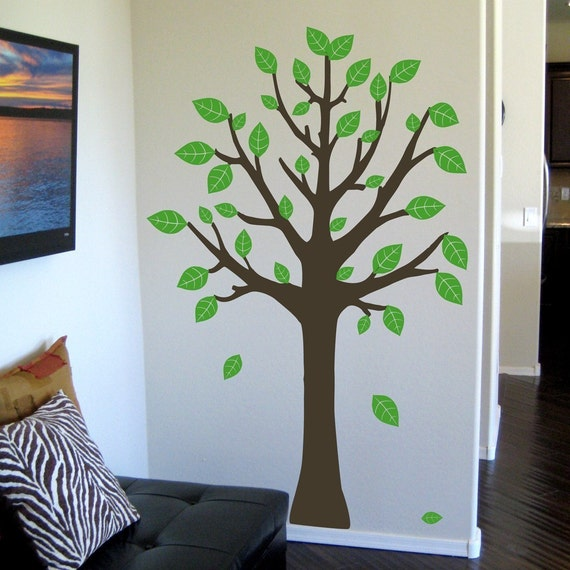 on sale tree extra large wall decal. Black Bedroom Furniture Sets. Home Design Ideas