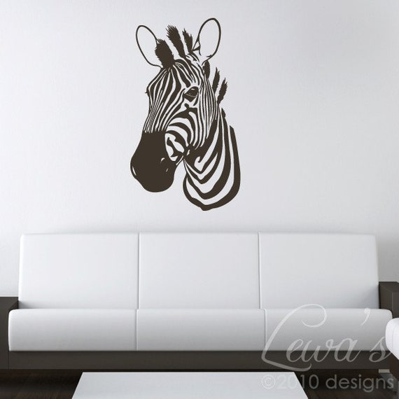 Zebra Wall Decal XL