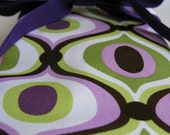 Knitting Needle Roll Up Case--Feeling Groovy