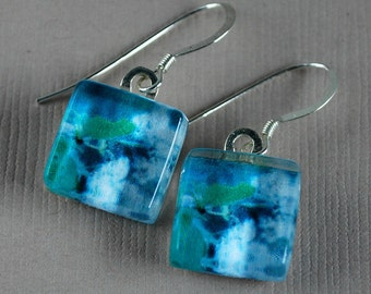 Florida Flurries Earrings - Photo Earrings - Woods and Nature - Nature Photography
