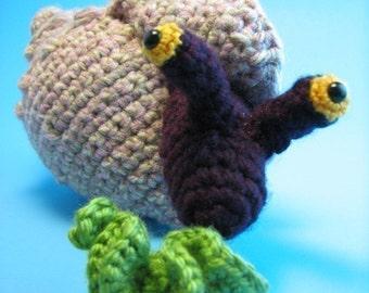 Conch Snail Amigurumi - PDF crochet pattern
