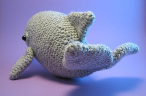 Amigurumi Dolphin Free : Dolphin - PDF amigurumi crochet pattern from edafedd on ...