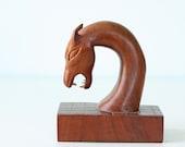 Mid Century Modern Wooden Sea Creature