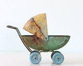 Vintage Toy Doll Carriage