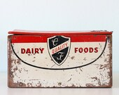 Vintage Dairy Box