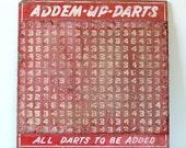 Vintage Carnival Sign - Addem Up Darts