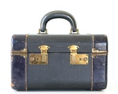 Vintage Navy Train Case