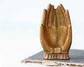 Vintage Gold Hands RESERVED