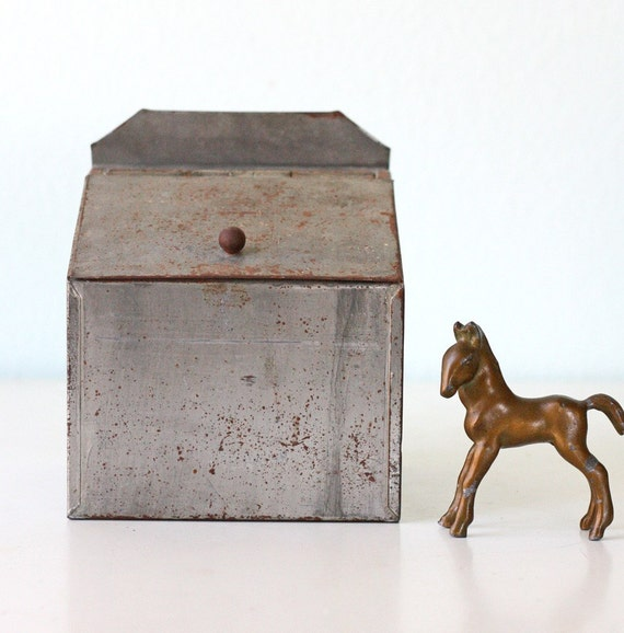 Vintage Little Tin Box