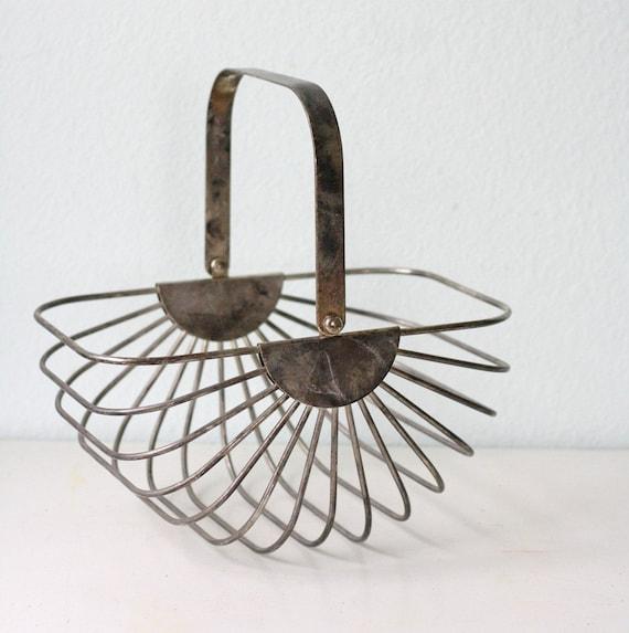 Vintage Silver Basket