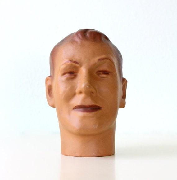 Vintage Mannequin Man Store Display Piece