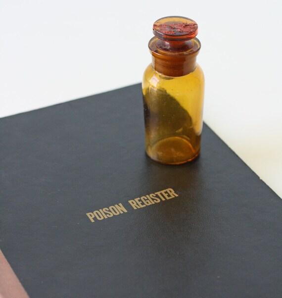 Poison Register Book