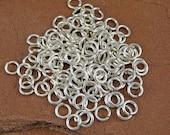 Sterling Silver Jump Rings - 75 18 gauge 3mm ID Jump Rings (5mm OD)