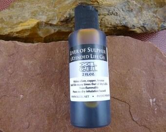 Liver of Sulphur Extended Life Gel - 2 oz squeeze bottle