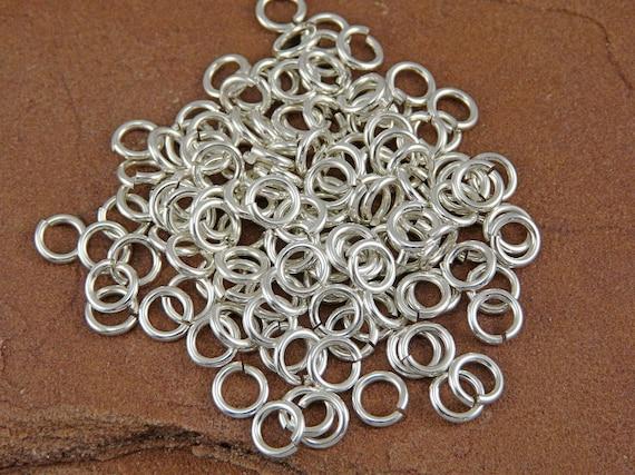Silver Filled Jump Rings - 60 16g 4.5mm Inner Diameter