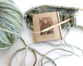 Knitting Gauge Cards Gift Knitters Crocheters Original Design Handmade Pack of 16 cards