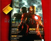 Ironman 2 Journal (Notebook, sketch book, note pad)