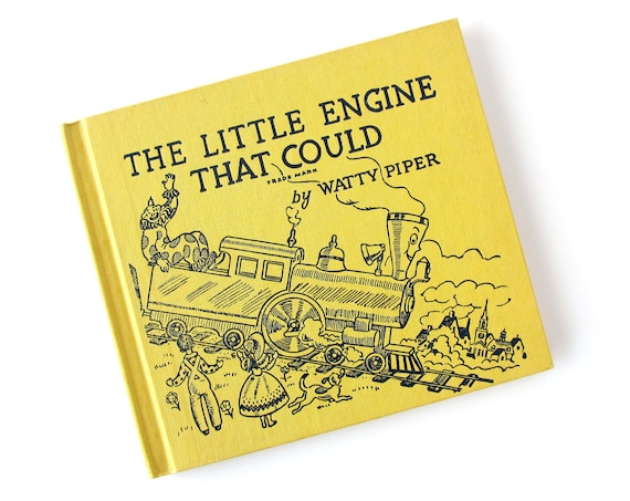 1961 The Little Engine That Could - Children's BOOK