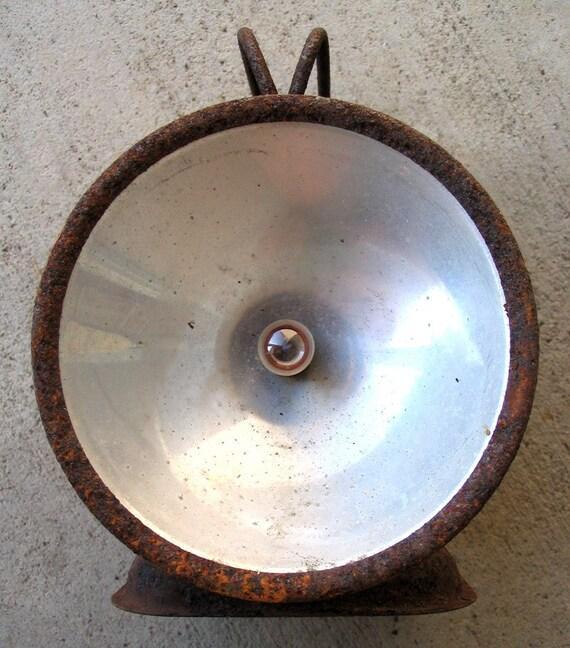 Vintage Electric Lantern Found Object