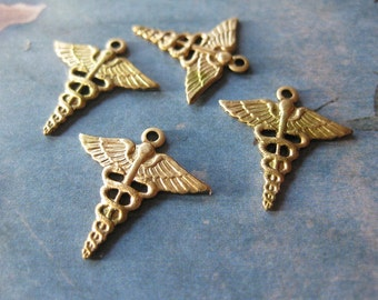 2 PC Medical Insignia - Pendant / Charm - RR21