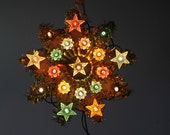 Vintage Christmas Star - free shipping