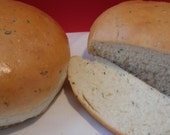 AWARD WINNING Italian Herb Bread - 2 loaves