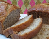 MOIST AND DELICIOUS BANANA BREAD - 2 loaves