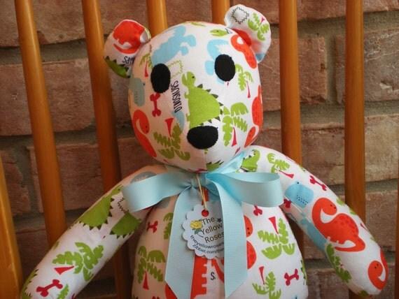 Teddy Bear Handmade Dinosaur Reduced