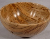 Spalted Ambrosia Maple Ring Dish bowl number 4231
