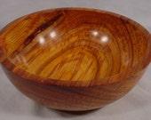 Large Exotic Brazilian Canarywood Bowl Number 4306