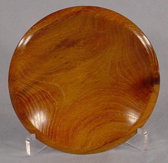 Osage Orange DishTurned Wooden Bowl Art Nmber 4586 by Bryan Tyler Nelson is NELSONWOOD