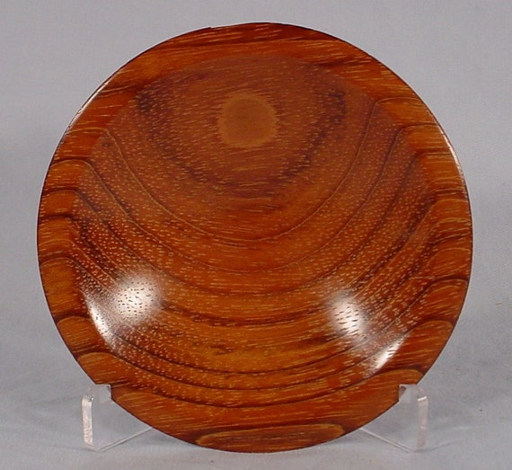 Reserve for Mike Joly  Jatoba Ring or Coin Dish Turned Wood Bowl number 4437 by Bryan Tyler Nelson