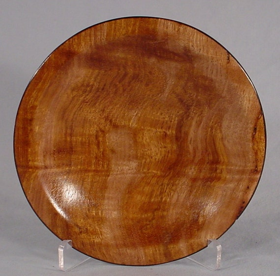 Curly Tasmanian Eucalyptus turned wood bowl number 4287 by Bryan Tyler Nelson