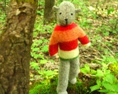 Pogo - Adam, eco-friendly stuffed animal, hand-stitched
