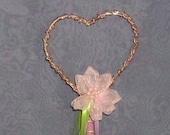 Heart Princess wand \/ Fairy Wand