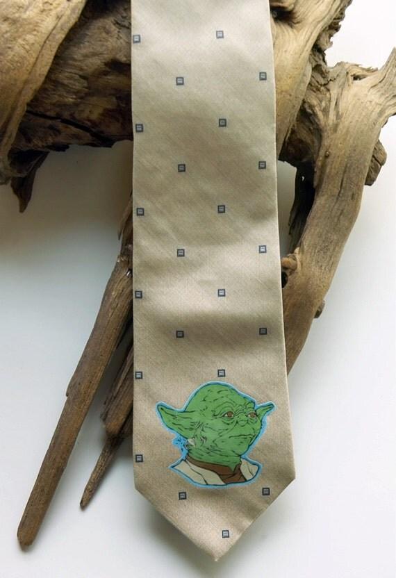 Yoda master (star wars) Old Style Neckties