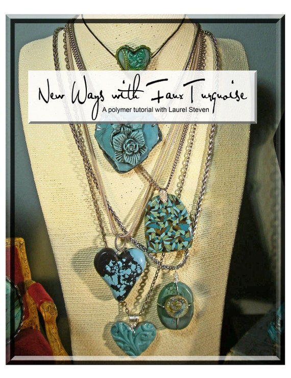TUTORIAL - New Ways with Faux Turquoise in Polymer Clay