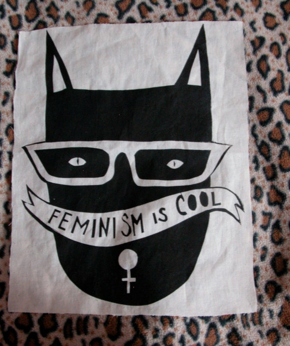 Cool Cat Back Patch