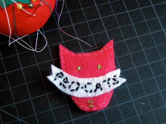 SALE Pro-Cats Brooch