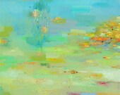 Abstract Painting, Oil Painting, Fine Art Print , Giclee Print , Wall Art , Wall Décor , Beach Print 12x12