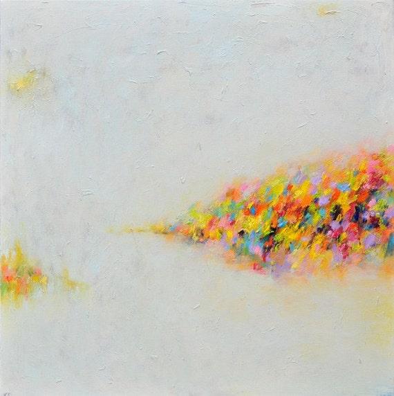 Abstract art Prints, Art Print- Autumn - Giclee Print - abstract oil painting- wall decor- wall art 10x10 12x12 16x16