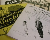 4-issue subscription to High Maintenance Machine