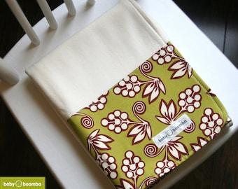 Organic Bamboo Fleece Baby Blanket - Blossom Buds